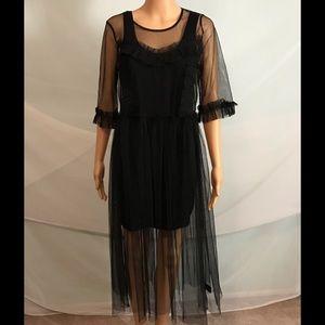 Dresses & Skirts - Sheer Mesh Dress